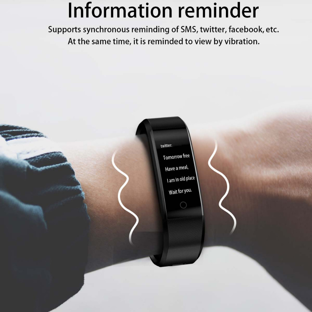US $10 99 |Aliexpress com : Buy For VIVO X7 X7Plus Xplay6 Xplay5 Bluetooth  Sport Smart Wristband Fashion Smart Bracelet Band Heart Rate Monitor