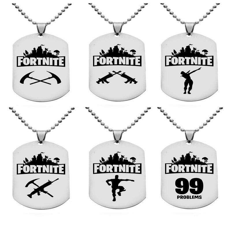 Fortnite Dog Tags Outline