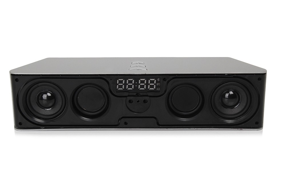 Super Bass Portable Bluetooth Speaker 4.0 Big Powerful 10W Soundbar Wireless Stereo Sound Box with DSP Noise Reduction Mic (30)