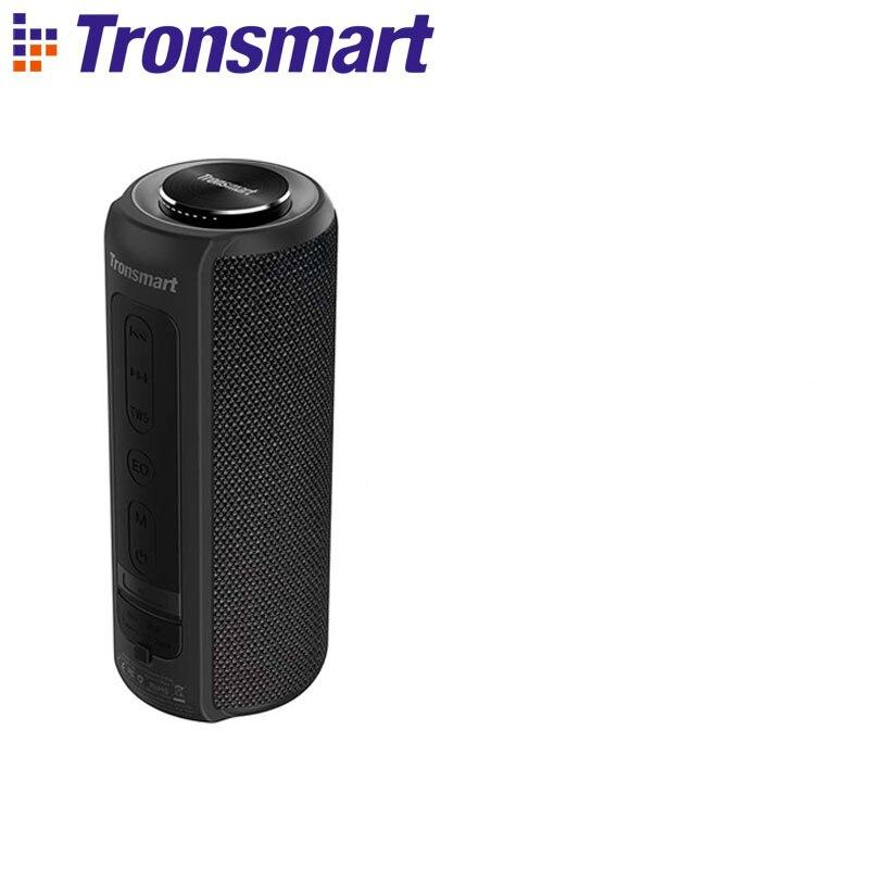 Tronsmart T6 Plus Bluetooth динамик до 40 Вт беспроводной Саундбар Bluetooth 5,0 IPX6 Водонепроницаемый динамик TWS для Iphone, Xiaomi - Цвет: Black