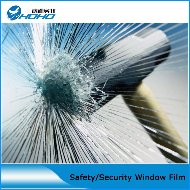 8 Mil Security Window Shatter Proof For Showcase Property Safety S Bathroom Sahtter