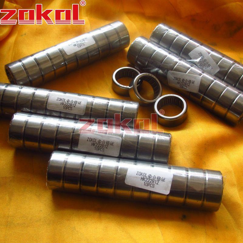 5 PCS HK2210 22x28x10 mm HK222810 Needle Roller Bearing Bearings 22*28*10