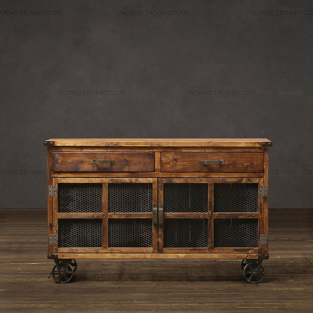 European Houston1943 Series / Do The Old Locker / Wood Furniture / Recycled  Wood TV Cabinet