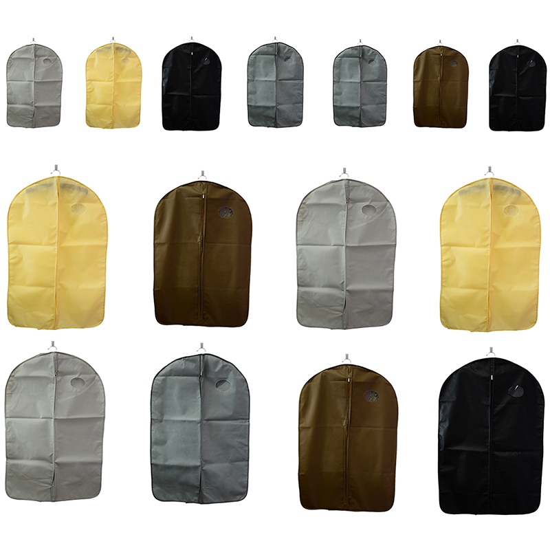 3Sizes Wardrobe Storage Bag Case Trench Coat Cover Protector Dress Garment Suit Coat Dust Cover Fur Coat Storage Bag For Clothes garment bag