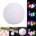 Spheriform Bola Em Forma de LED Cor Mudar Mood Night Light Quarto Home Decor decorações Do Partido NG4S