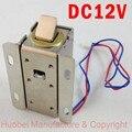 Frete grátis porta bloqueio eletrônico DC12V elétrico pequeno gabinete fechaduras fechaduras de gaveta pequena trava elétrica de controle de acesso rfid