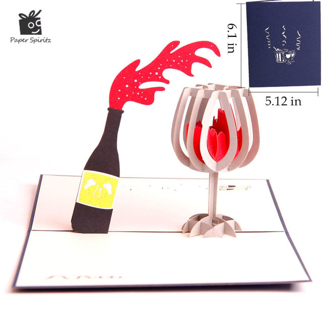 Online Shop 3d Pop Up Greeting Post Cards Fathers Day Birthday Card