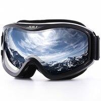 JULI Ski Goggles Winter Snow Sports Snowboard Ski Mask With Anti Fog UV Protection Double Lens