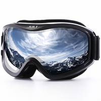 JULI Ski Goggles Winter Snow Sports Snowboard Ski Mask With Anti Fog UV Protection Double Lens