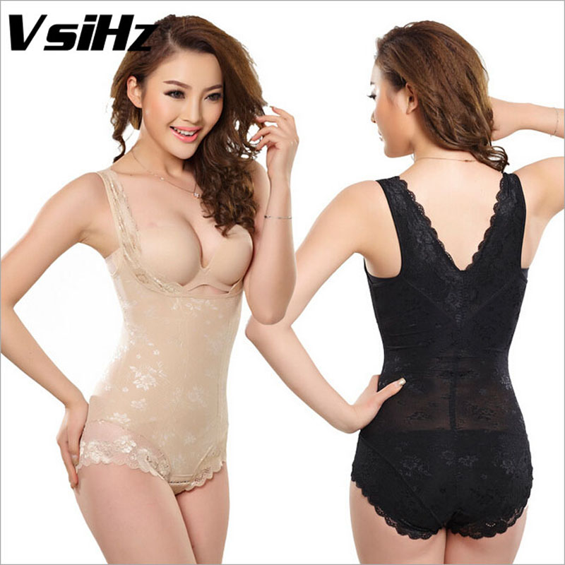 fb82b4e23225c Detail Feedback Questions about New hot sexy firm lace Bodysuits thin waist  abundant buttocks lock fat tall chest corset corset postpartum recovery slim  S ...