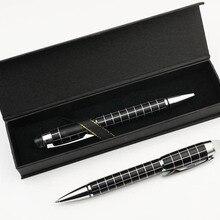 Новая решетка ручка шариковая ручка Ручка-роллер шариковая ручка Роскошная с подарочной коробкой офисные аксессуары Школьные принадлежности