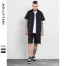 Inflation 2017 neue ankunft klar kurzarm männer clothing shirts männer kurzarm casual shirt