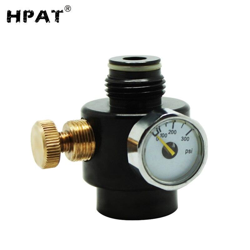 SPUNKY 2pcs lot 0 300psi Paintball Compress Air Co2 Adjustable Regulator