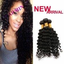 Charming 3 Bundles Cheap Indian Deep Wave Virgin Hair Weave Extensions Alibaba express Remy Human Hair
