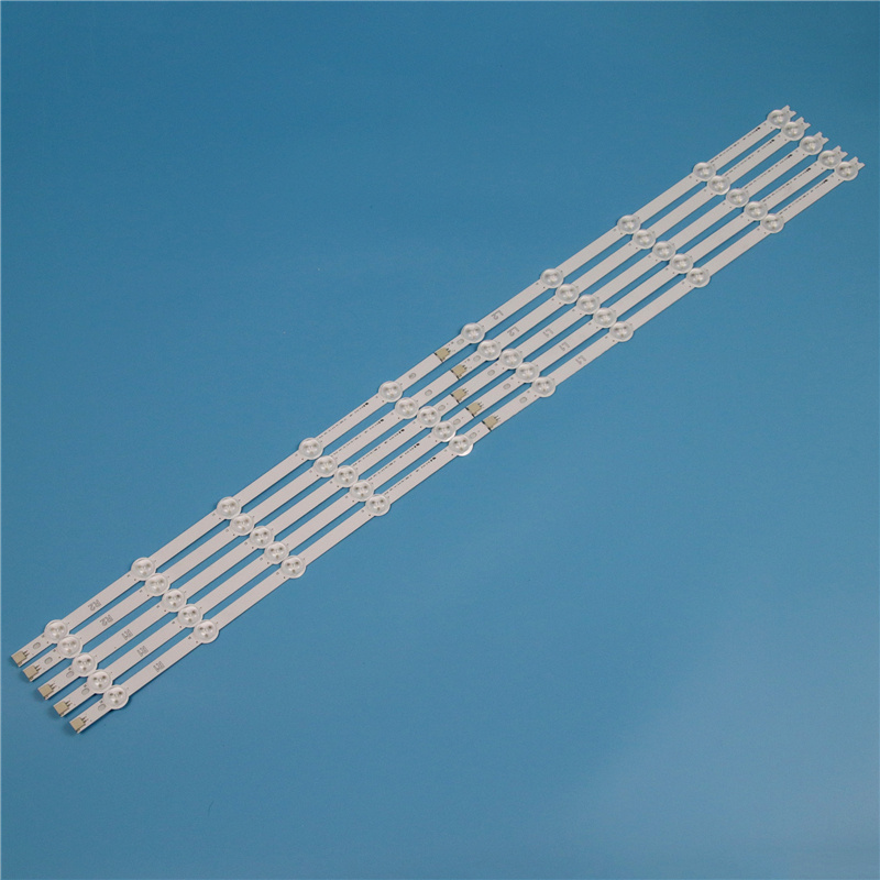 10 Lamps 820mm LED Backlight Strip Kit For LG 42LA6200 42LA6208 42LA6218 42 inchs TV Array LED Strips Backlight Bars Light Bands in Shell Body Parts from Consumer Electronics