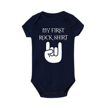 Baby Bodysuit Outfit Body-Rock Short-Sleeve Cotton My Cute