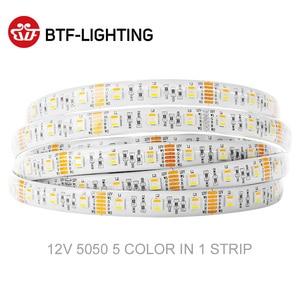 Image 3 - 5050 RGBW Led Lights 4pin RGB Led Strip 5pin 4 in 1 RGBWW RGBCW Led Strip Light 6pin 5 in 1 RGBCCT 5 meters 300 LEDs 12 24 Volt