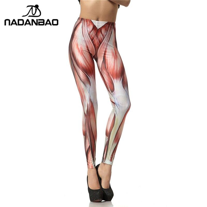 Nadanbao 2019 Neue Ankunft 3d Digitale Mode Einzigartige Rot Legins Muscle Leggins Gedruckt Frauen Leggings