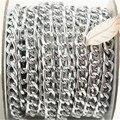 10 ярды снаряженная цепи roll, Алюминий цепь, Открытый звено цепи в ссылка размер 10 мм x 6 мм ювелирных изделий бесплатная доставка