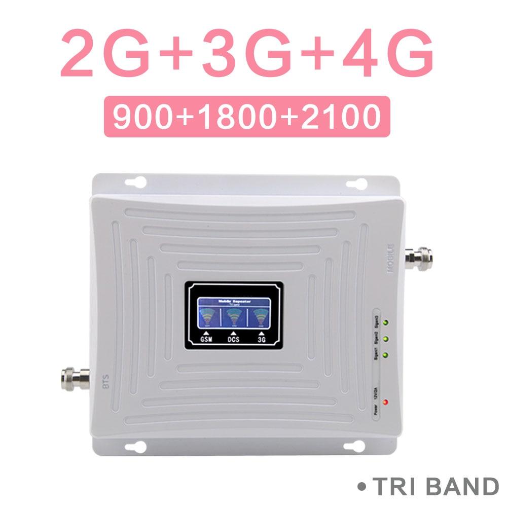 GSM 900 DCS 1800 WCDMA 2100 MHz Cellulare Ripetitore Del Segnale 2G 3G 4G Alto Guadagno 70dB Tri Band mobile del Segnale Del Ripetitore GSM B1 B3 AmplificatoreGSM 900 DCS 1800 WCDMA 2100 MHz Cellulare Ripetitore Del Segnale 2G 3G 4G Alto Guadagno 70dB Tri Band mobile del Segnale Del Ripetitore GSM B1 B3 Amplificatore