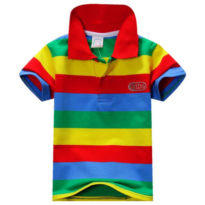fb619eb4f New Baby Boys Kid Tops T-Shirt Summer Short Sleeve T Shirt Striped ...
