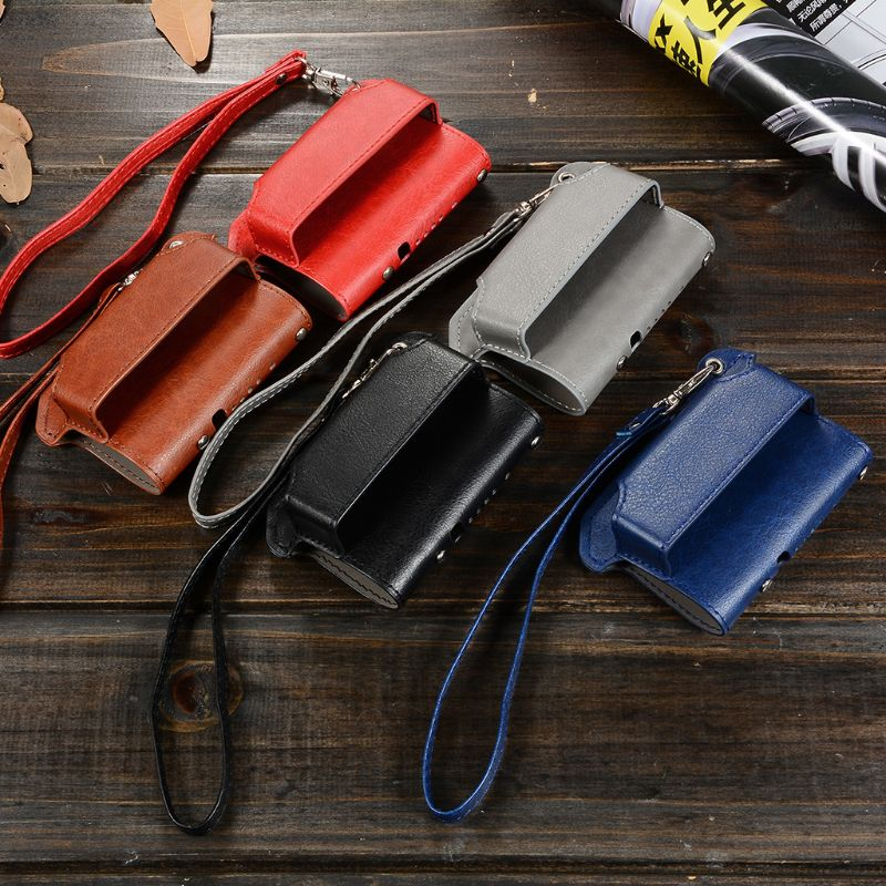 2 In 1 Protive Case Cover Sleeve Holder Carrying Storage Box Lanyard Portable For IQOS 2.4 PLUS Elronic Cigaret