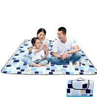Camping Mat Beach Blanket Mat Foldable Picnic Sleeping Mattress Outdoor Waterproof Tent Folding Bed 2X2M/2X1.5M
