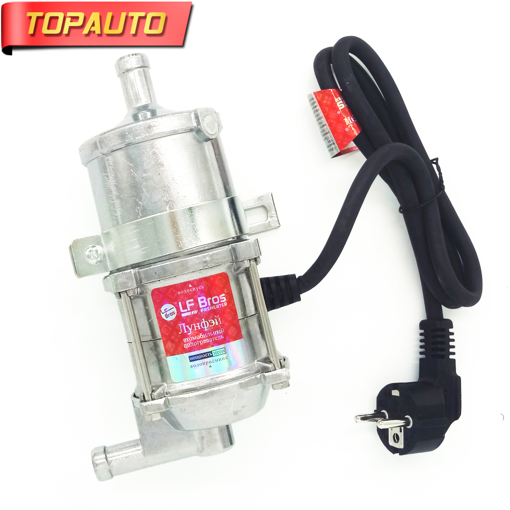 Topauto 220v 240v 3000w Auto Engine Heater Car Preheater Coolant Damage Causing The Heating Body To Dry Until Of Is Completely Damaged Therefore Install And Use Correctly