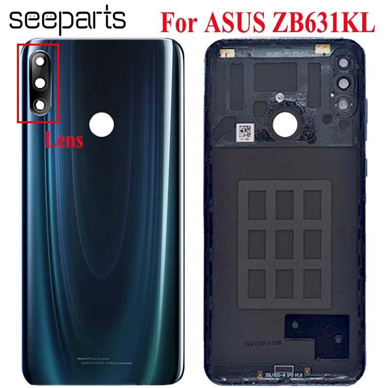Original Battery Door Back Cover Housing Case For Asus Zenfone Max Pro (M2) ZB631KL Battery Cover For ASUS ZB631KL Battery Cover