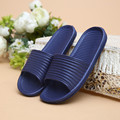 Couple Summer Casual Men Women Slipper Fashion Striped Hous ehold Home Floor Non-slip Indoor Shoe Ladies Slippers Mujer Pantufla
