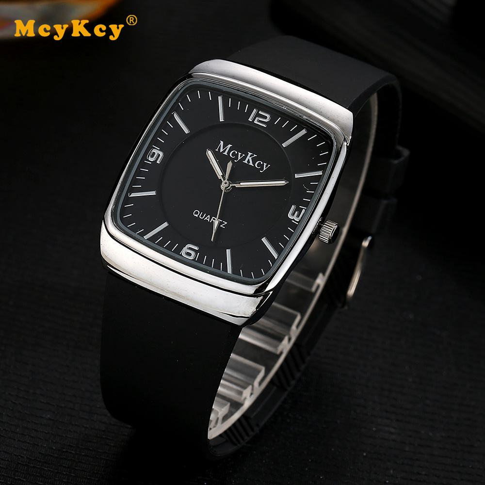 Mcykcy Top Brand Men Watch Fashion Casual Sport Classic Quartz Watch Clock Dial For Male Gift Men Wrist Fashion Watch MY0196 mens watch top luxury brand fashion hollow clock male casual sport wristwatch men pirate skull style quartz watch reloj homber