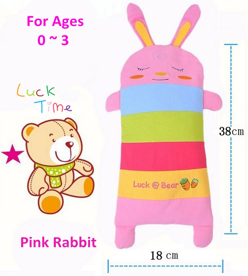 small sizefree shipping baby pillow case cartoon rabbit buckwheat hulls pillow case kids neck