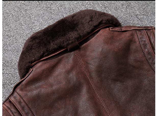 HTB1jKtgXUzrK1RjSspmq6AOdFXa7 Brand new winter warm.Classic G1 style mens leather jacket,vintage cowhide Jackets,man genuine leather coat