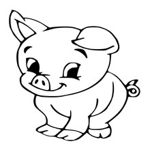 Car- stying 15*15CM Big Eyes Baby Pig Cartoon Fashion Car Styling  Sticker Decorative Art sticker Jdm