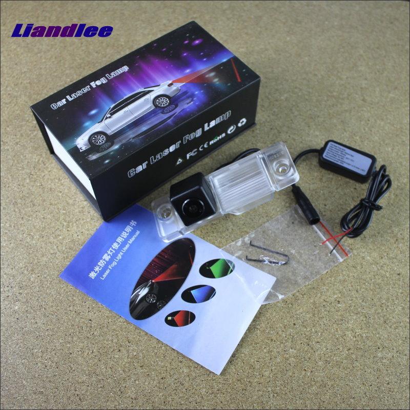 Liandlee Auto Laser Fog Light For Chevrolet Captiva Sport 2011~2013 Preventing Rain Fog Haze Fog Lamps Auto Truck Car Alarm