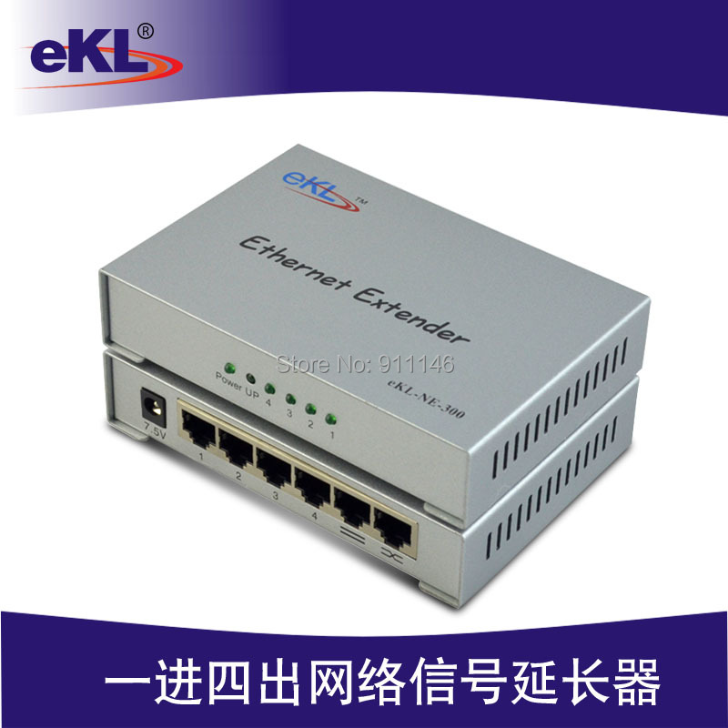 Ethernet cable extender long line driver signal amplifier 300 meters ekl 300m Ethernet Extender ce link 2020 hdmi repeater signal amplifier extender line driver 40 meters