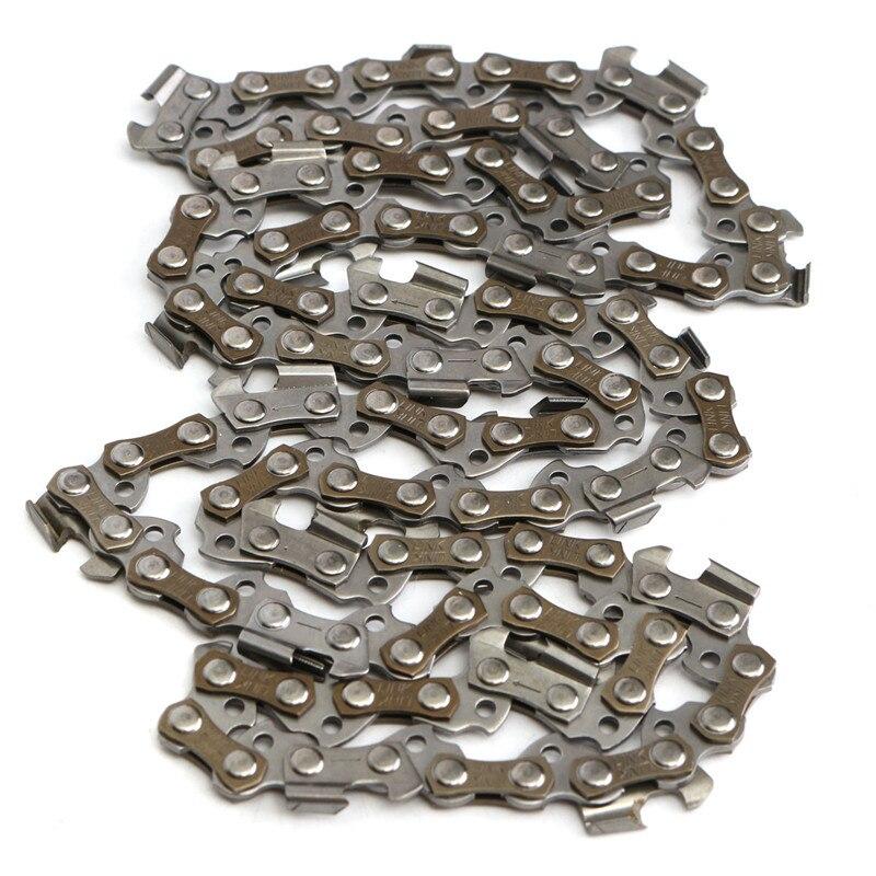 16 Zoll Kettensäge Kette Ersatz Klinge 55 Stick Links 3/8 Pitch Gauge Stick Link Kettensäge Kette Hardware