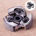 Clutch Pad with 3 Springs Replacement Fit for 2 Stroke 47cc 49cc Mini Pocket Dirt Bike Quad ATV Mini Quad