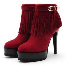 Shoes Woman,2015 Fashion Women Boots,Women Winter Boots,Ankle High Boots,Platform Thin Heels High Heels,Women Shoes,UX55002-3