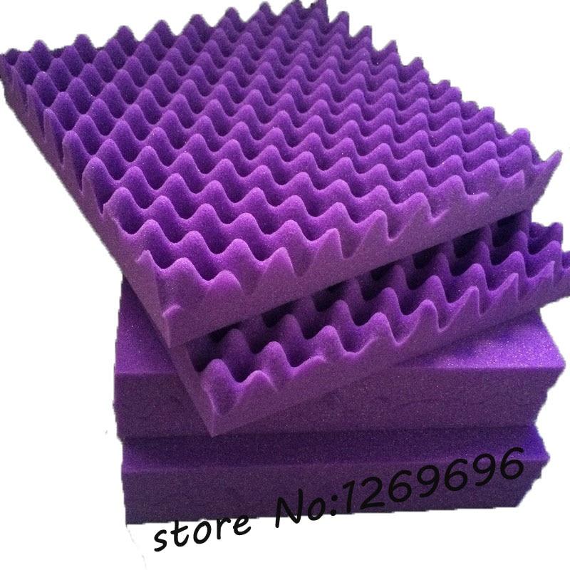 Acoustic Foam Insulation : Pcs wave sound insulation auditorium acoustic panel