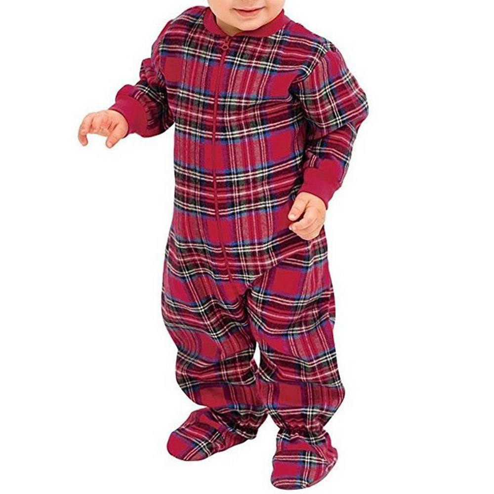 35eb782c8f Hot Sale Newborn Clothes Xmas Family Matching Christmas Pajamas PJs ·  Christmas Pyjamas Baby