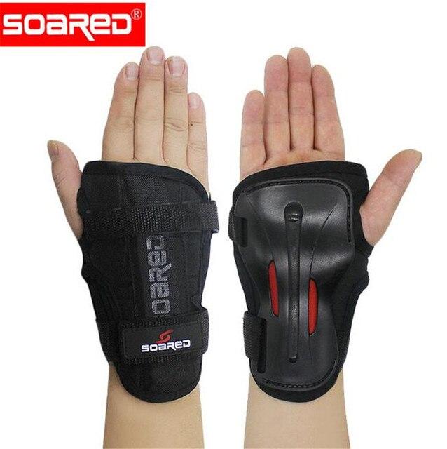 cbea222d07fa8 Support de poignet réglable élancé bretelles de sport bande de ski  Protection attelle ceinture enveloppes EVA