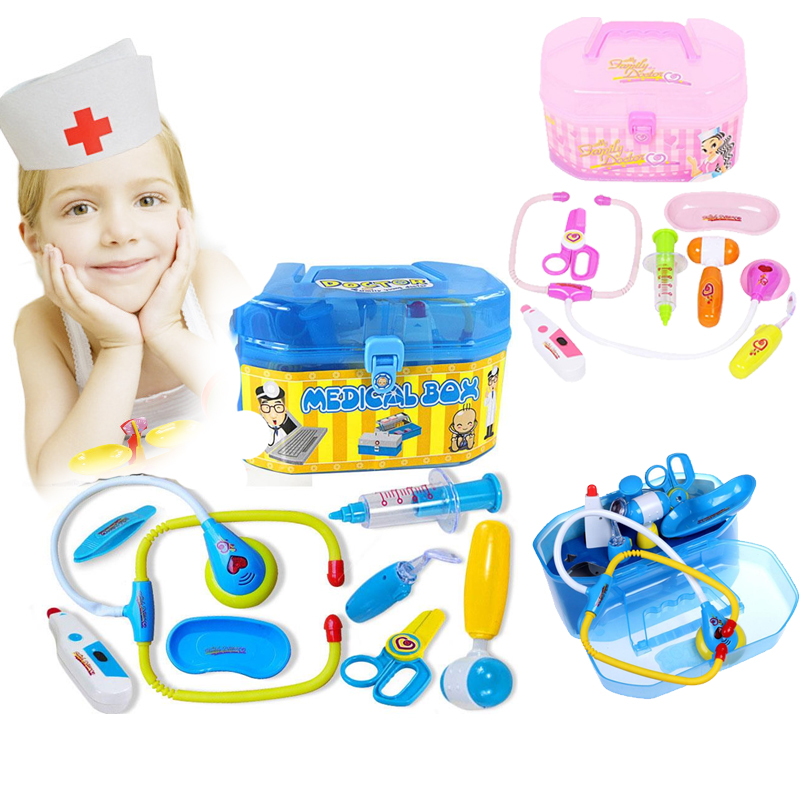 Kids Doctor Toys Pretend Doctor Nurse Medical Play Set Role Playing Cosplay Kit