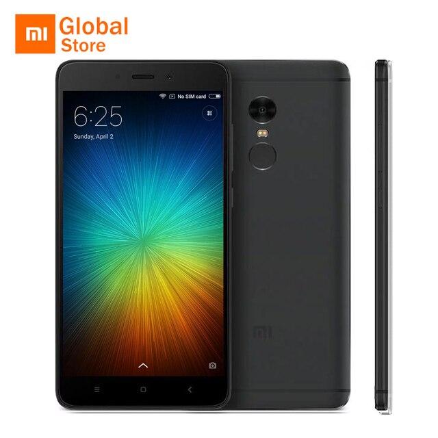 """Xiaomi Redmi Note 4 Pro Prime 3 ГБ Оперативная память 64 ГБ Встроенная память Мобильный телефон MTK helio X20 Дека Core 5.5 """"FHD 13MP 4100 мАч Miui 8 оригинальный"""