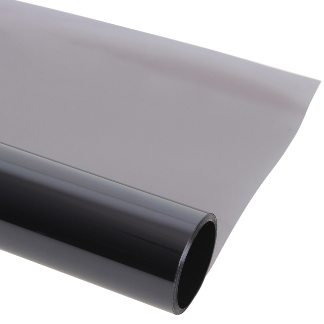 "75cm*30m/20""Car Window Tint Film Super Dark Black Car Window Foils Solar Protection 50% VLT Stickers Whole Sale"