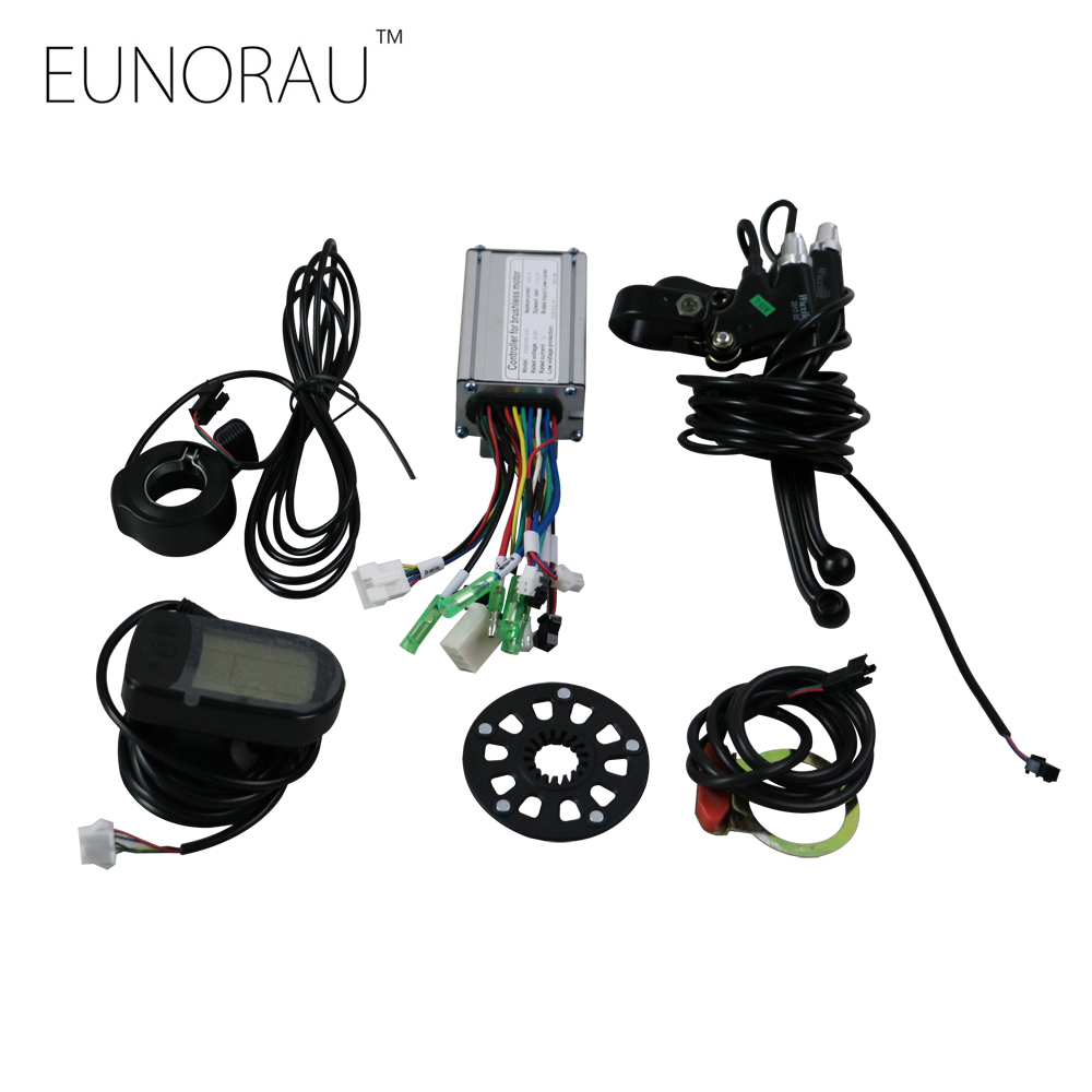 Free shipping Electric bike Conversion Kit system for 36V250W hub motor kit waterproof electric bike conversion kit system for 36v250w 350w hub motor kit