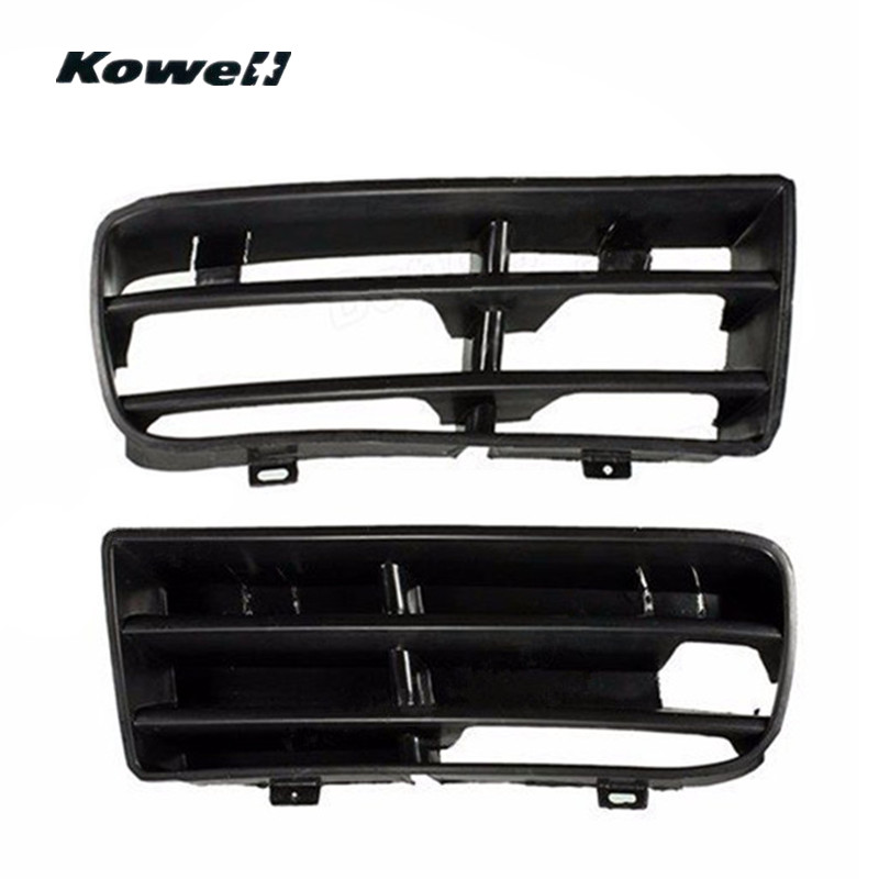 Car Front Lower Center Grill Grille Bumper For 01-05 Volkswagen VW Passat Black