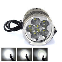 Cycling 9000Lm 6x XML T6 LED Front Bicycle Head Light 4 Modes Bike Lamp HeadLamp