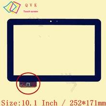 Czarny dla prestigio multipad 4 Ultimate 10.1 3G PMP7100D3G_quad DUO FPDC 0085A 1 A11020A0089 ZX 1351 A1WAN06 ekran dotykowy