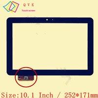 Preto para prestigio multipad 4 ultimate 10.1 3g pmp7100d3g_quad duo FPDC-0085A-1 a11020a0089 ZX-1351 a1wan06 tela sensível ao toque